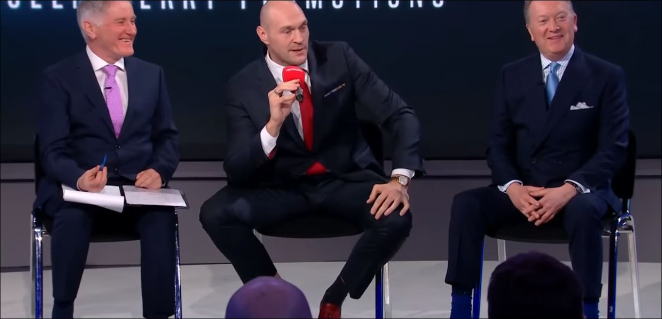 Tyson Fury Responds To Question If He Still Wants Deontay Wilder Rematch