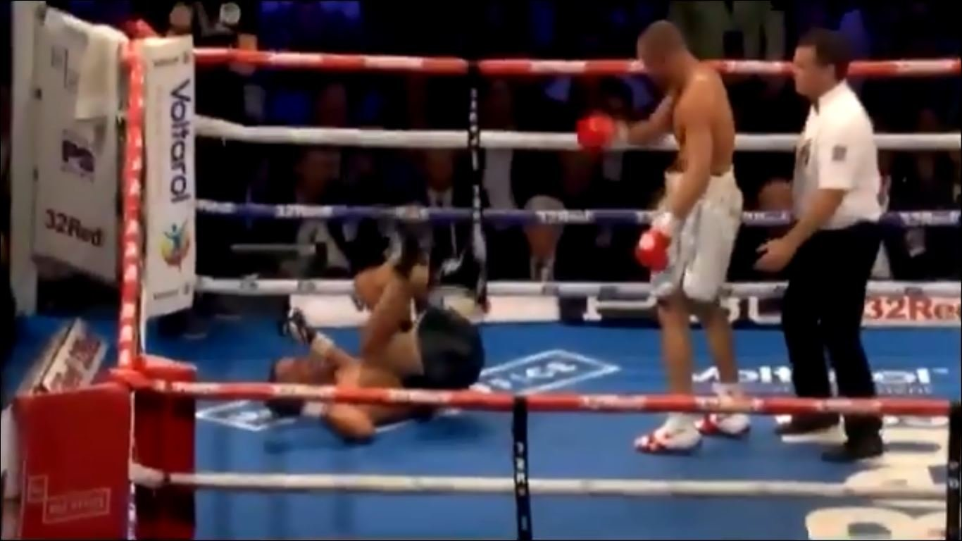Video Shows Moment Eubank Jr Went Full WWE Mode On James DeGale