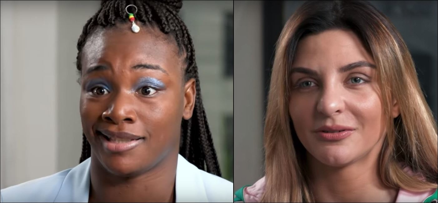 Claressa Shields and Christina Hammer Get Personal About Looks