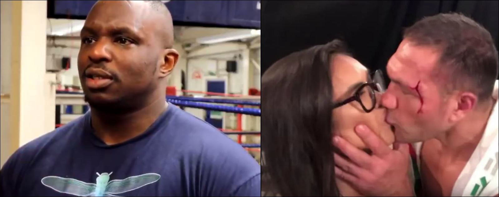 Heavyweight Dillian Whyte Reacts To Boxer Forcibly Kissing Female Reporter