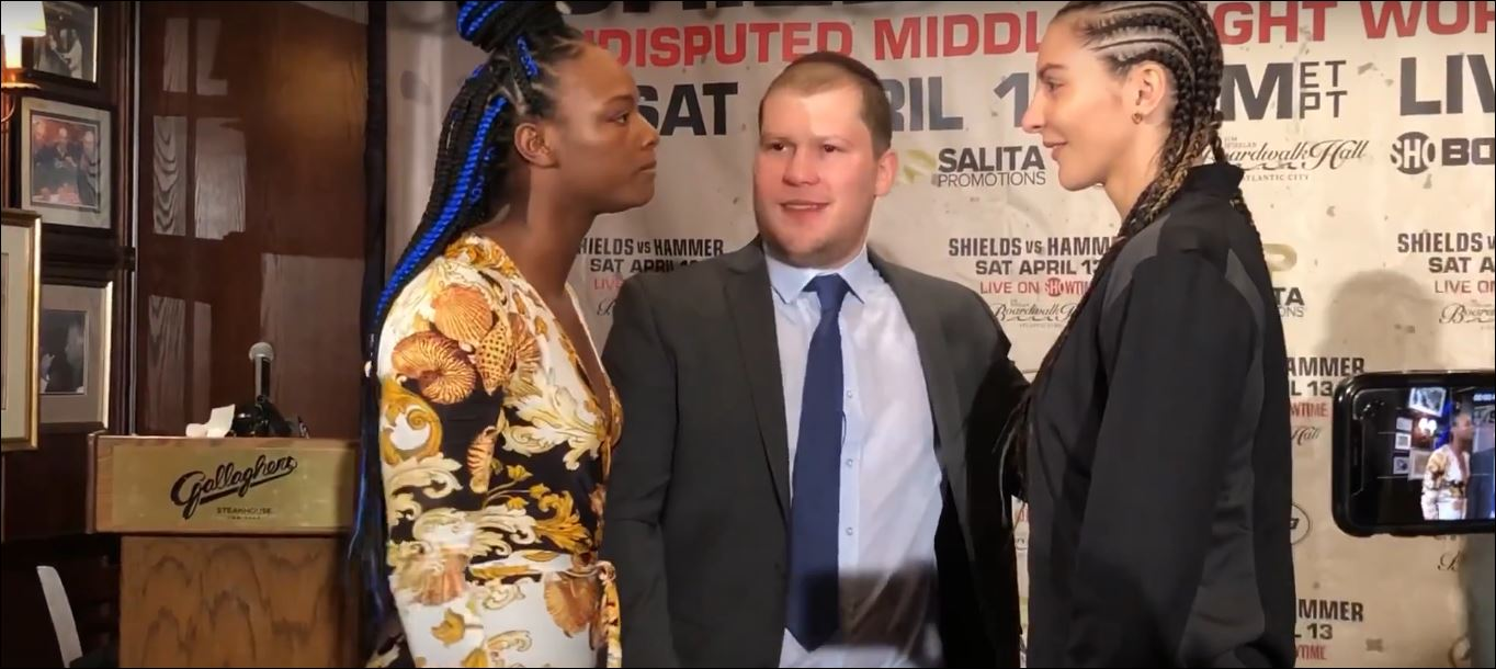 Shields and Hammer Share Tense Final Press Conference Face Off