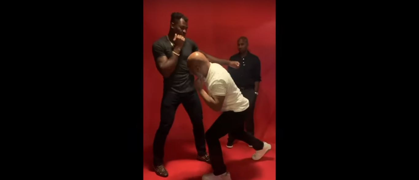 Video Shows 53-Year-Old Mike Tyson Showing UFC Star How To Beat Tyson Fury