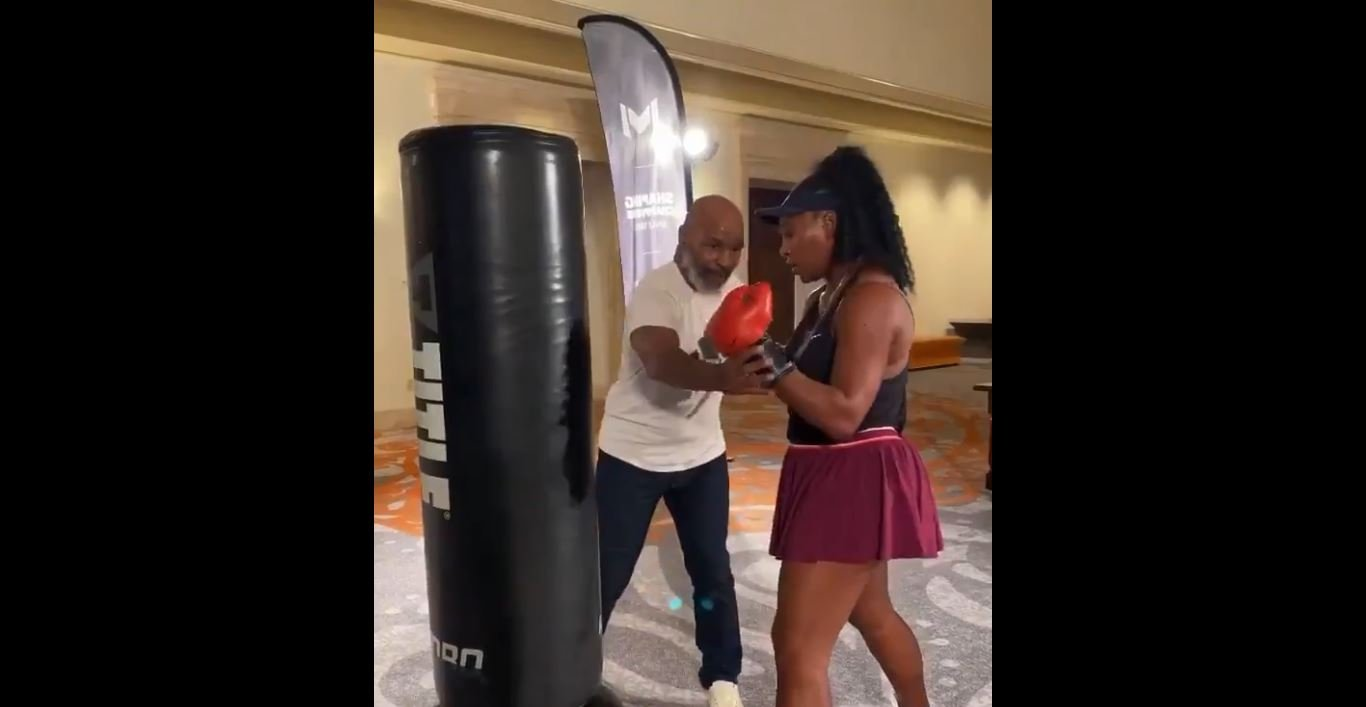 Boxing Fans React To Mike Tyson Training Serena Williams Video