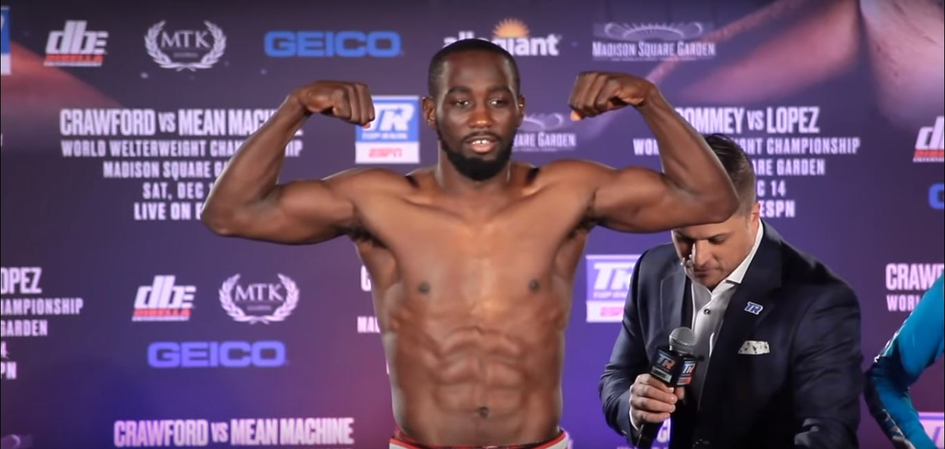Terence Crawford Score Stunning 9th Round Knockout At MSG