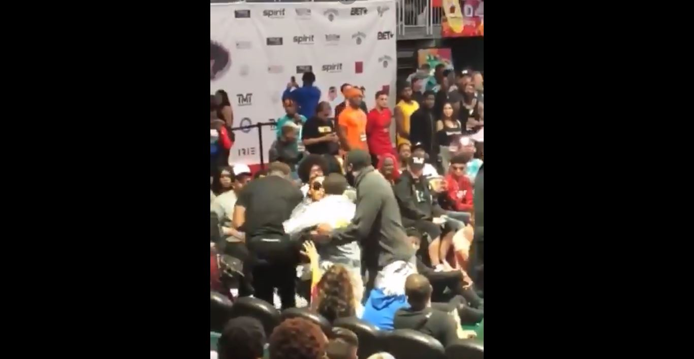 Gervonta Davis' physical altercation with woman caught on video