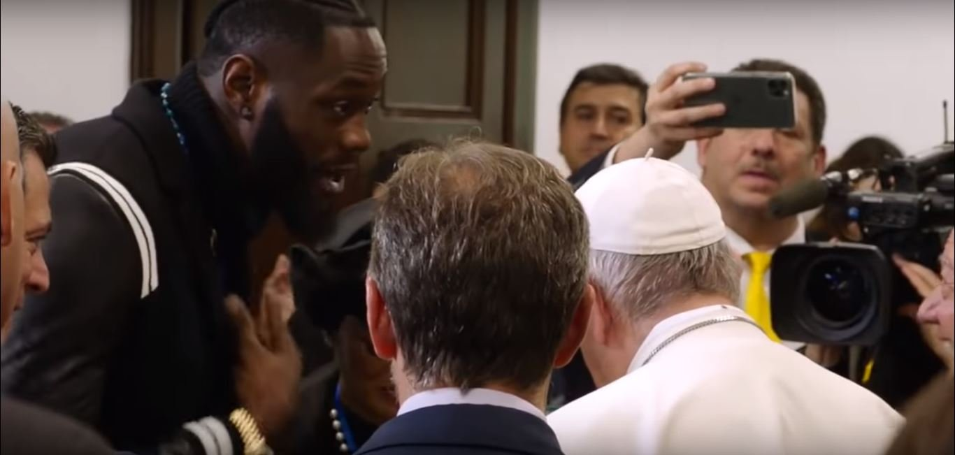 deontay wilder reveals unusual face about the pope
