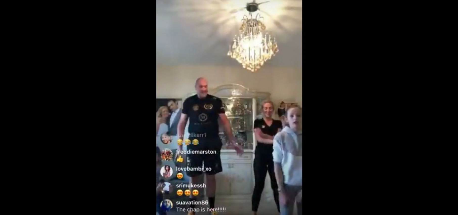 People Are In Stitches About What Tyson Fury's Son Said To Him