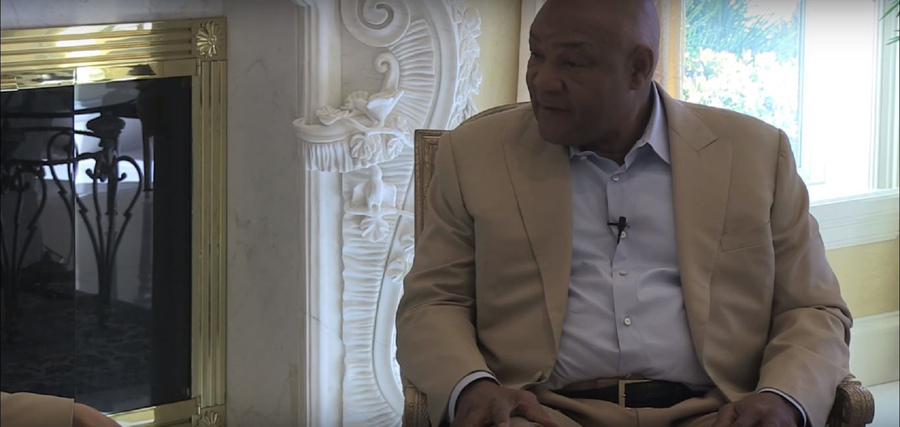George Foreman Clears Up What He Wants To Do With Deontay Wilder