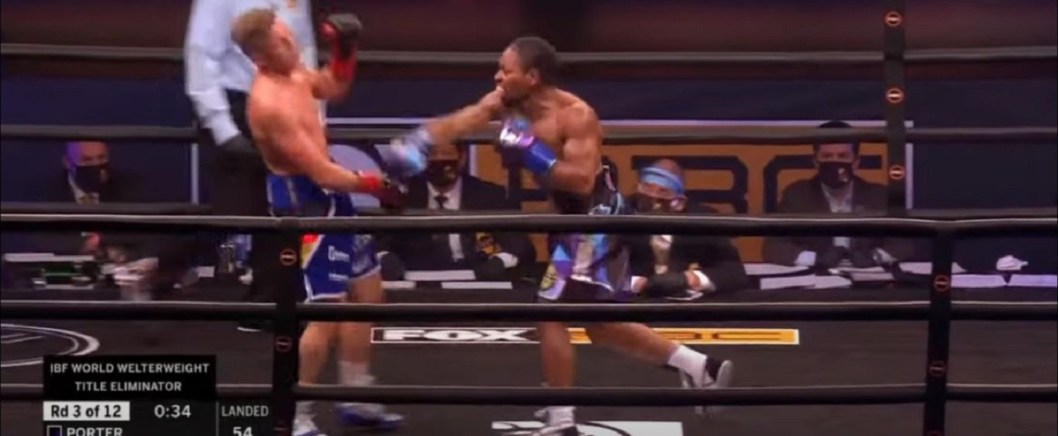 Errol Spence Jr Reacts To Shawn Porter Winning Eliminator For His Title