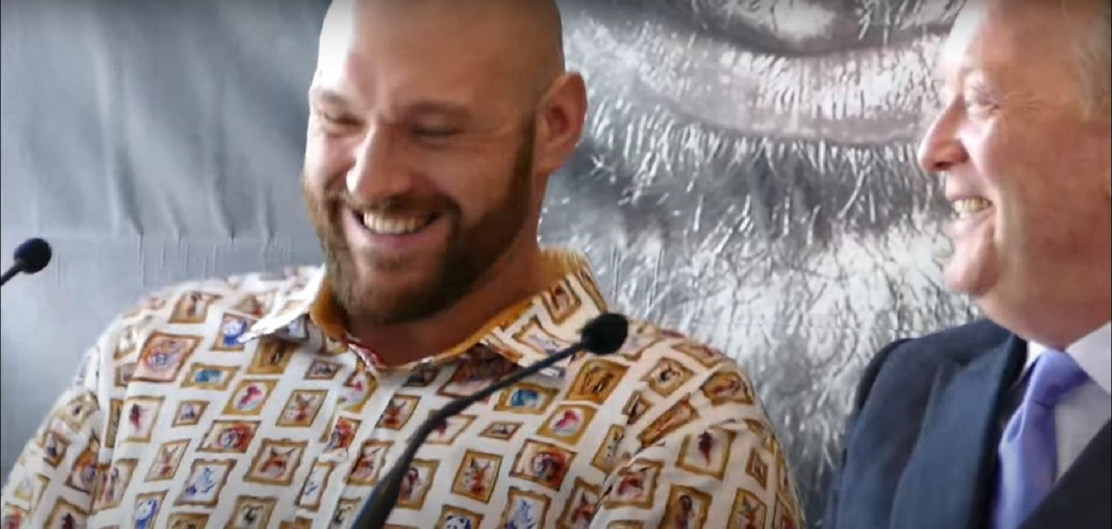 Tyson Fury Agrees With Frank Warren's Idea
