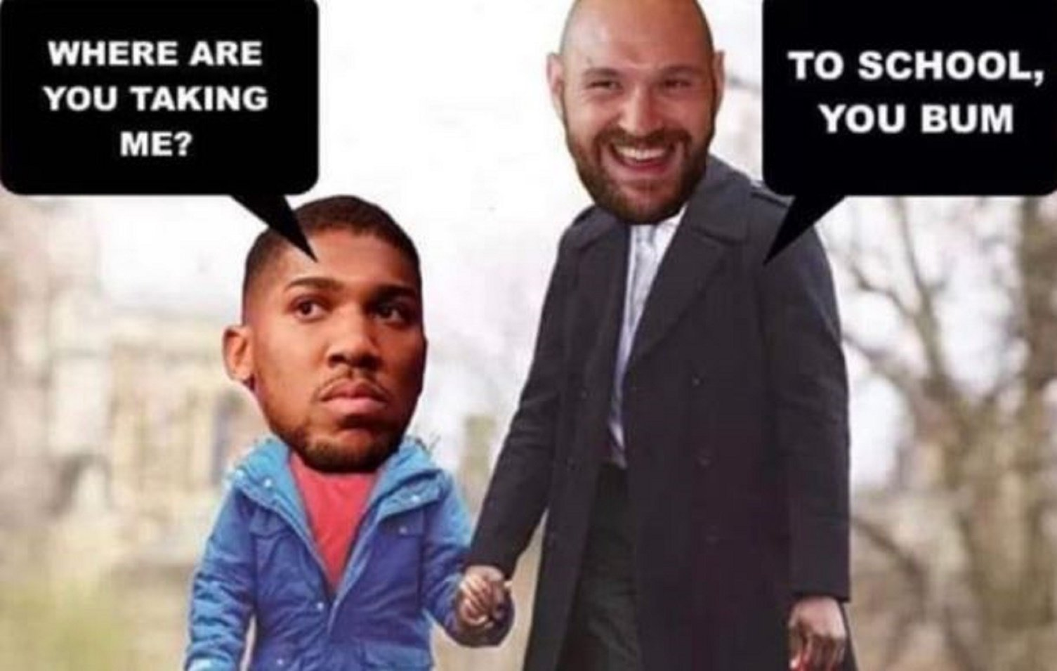 Tyson Fury's Relentless Trolling Of Anthony Joshua Gets A Big Reaction