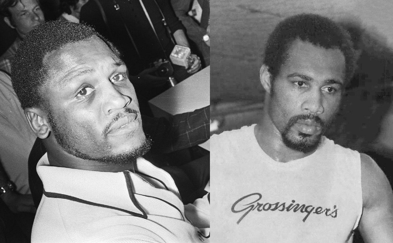 joe frazier and ken norton