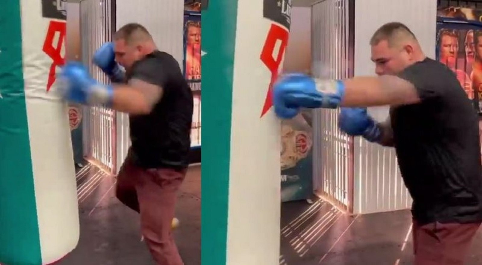 Andy Ruiz Working Hard On One Punch In Particular