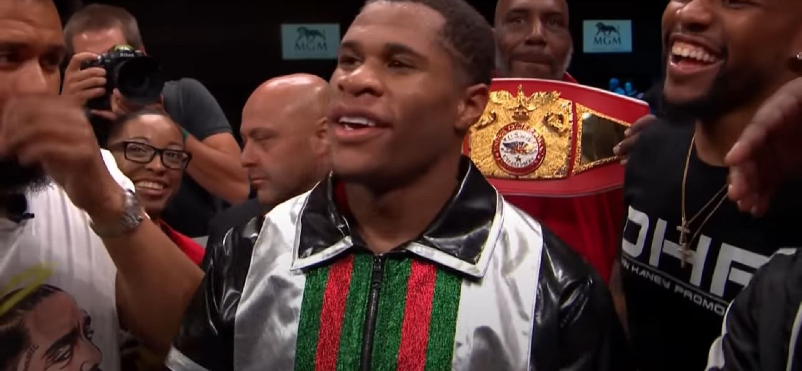 Devin Haney Reaction To Adrien Broner Win Proving Controversial