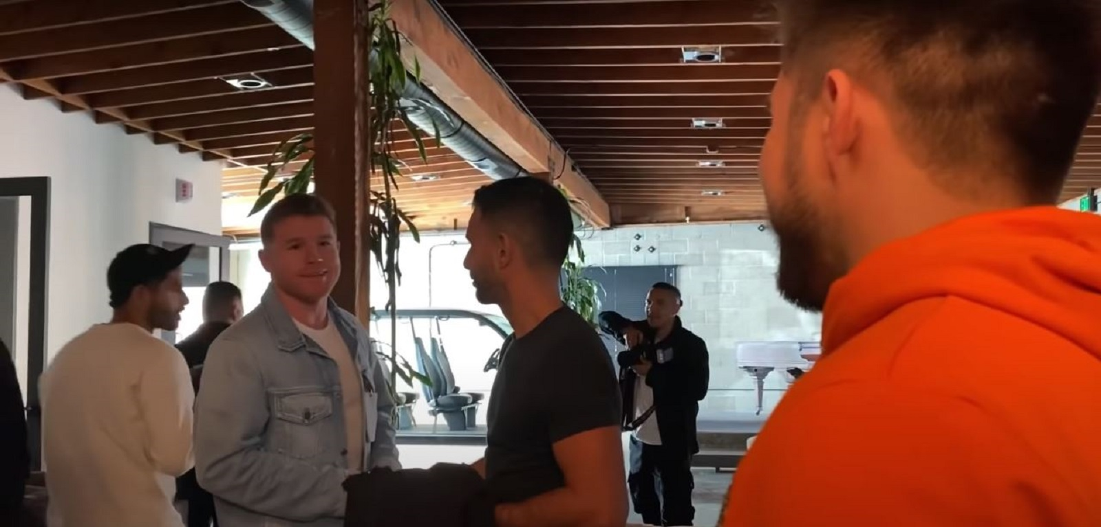 Watch Canelo Gets Into Exchange With Henry Cejudo Over Ryan Garcia