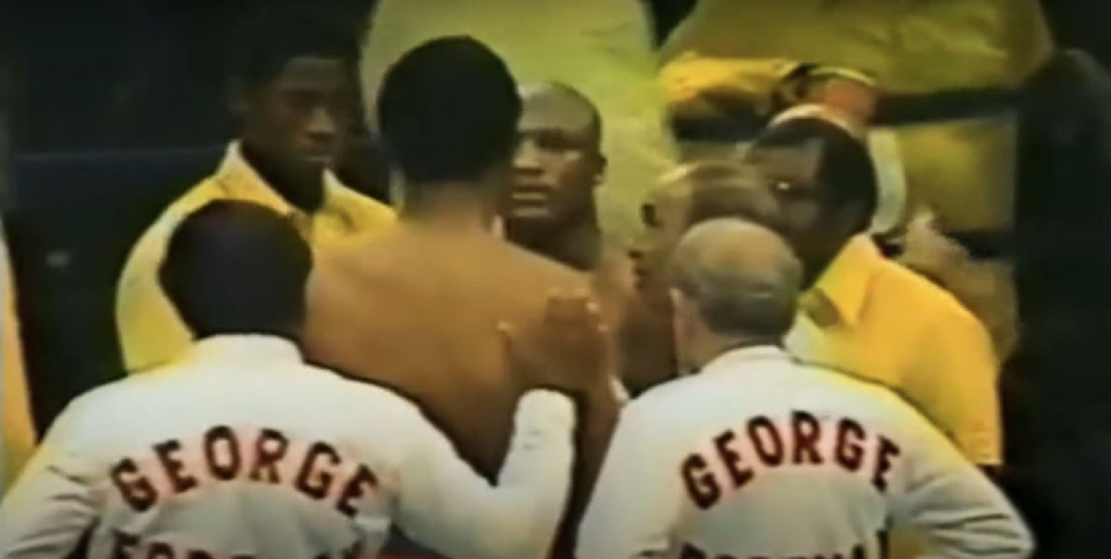George Foreman On The Moments Before Frazier 2 Fight