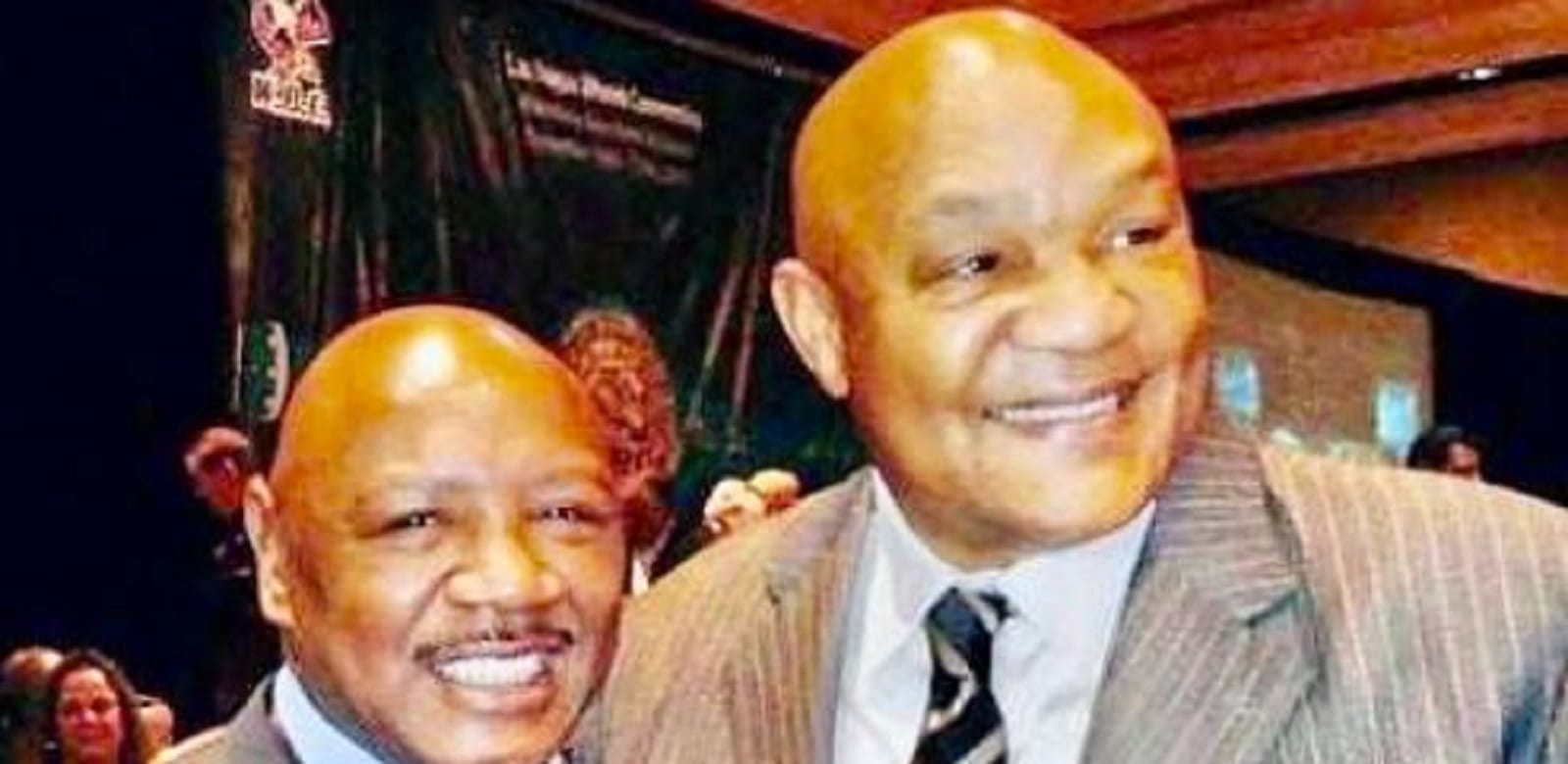 George Foreman Grabs Attention With Marvin Hagler Story