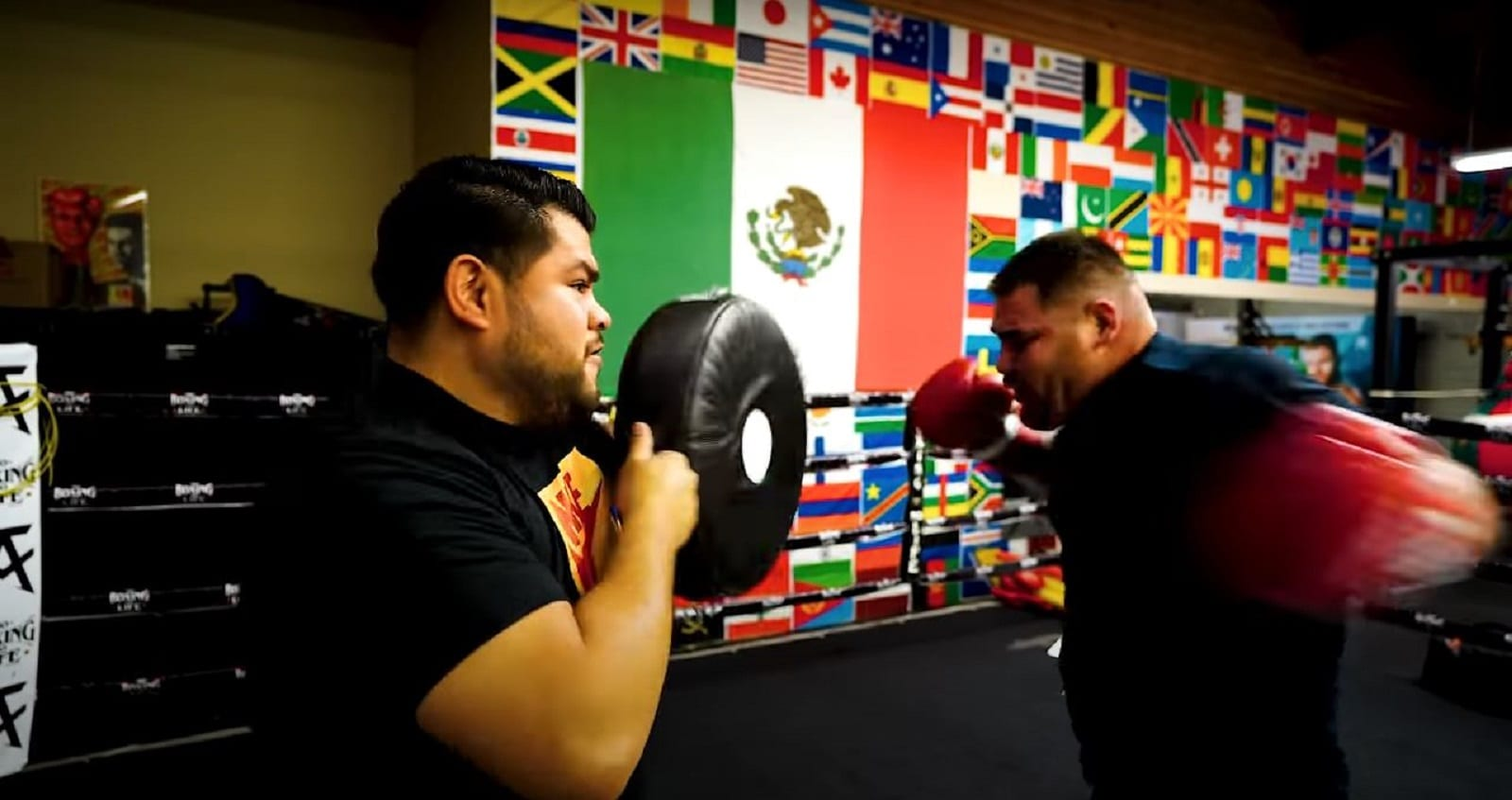 Andy Ruiz weight loss conversion into speed and power
