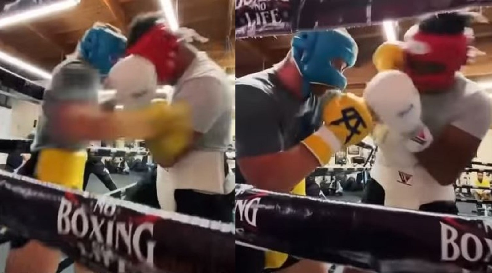 Canelo Sparring Footage For Billy Joe Saunders