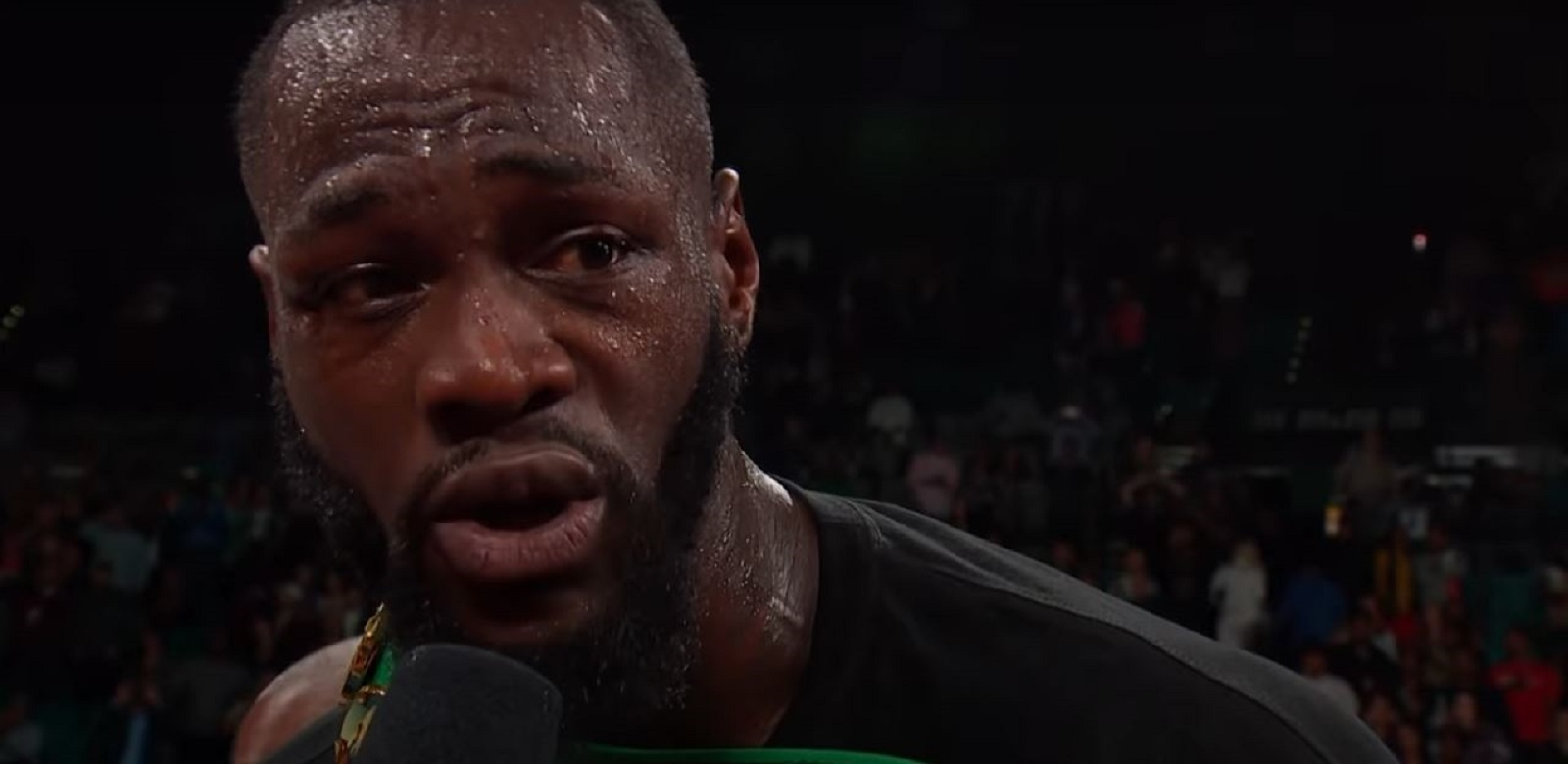 Deontay Wilder Angry and Focused On One Thing