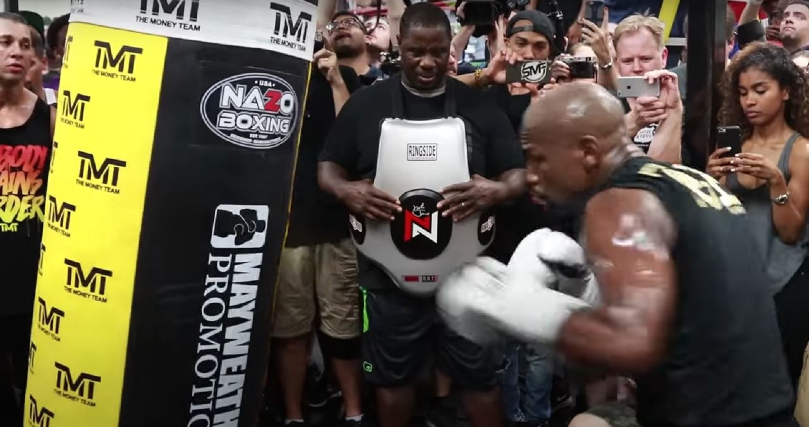 Mayweather Getting Ready For Logan Paul After Jake Paul Knockout