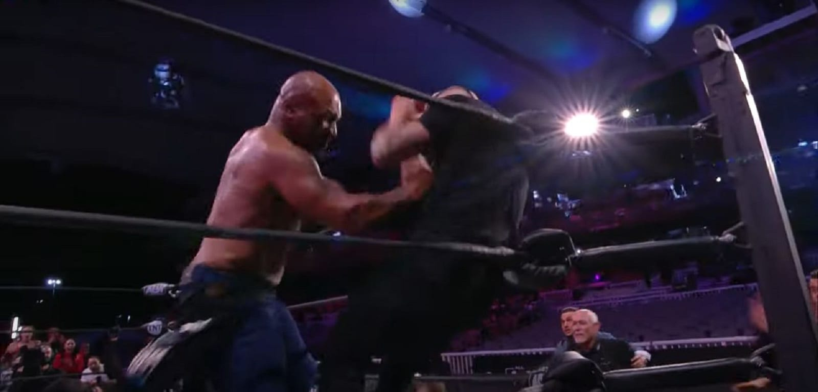 Mike Tyson Unleashes The Fury On Unsuspecting Wrestler