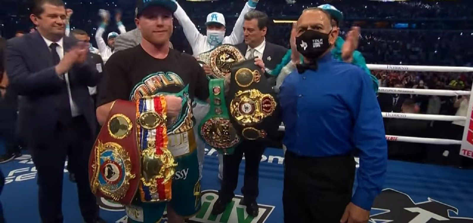 Canelo's Trainer Had An Emotional Response After Beating Saunders