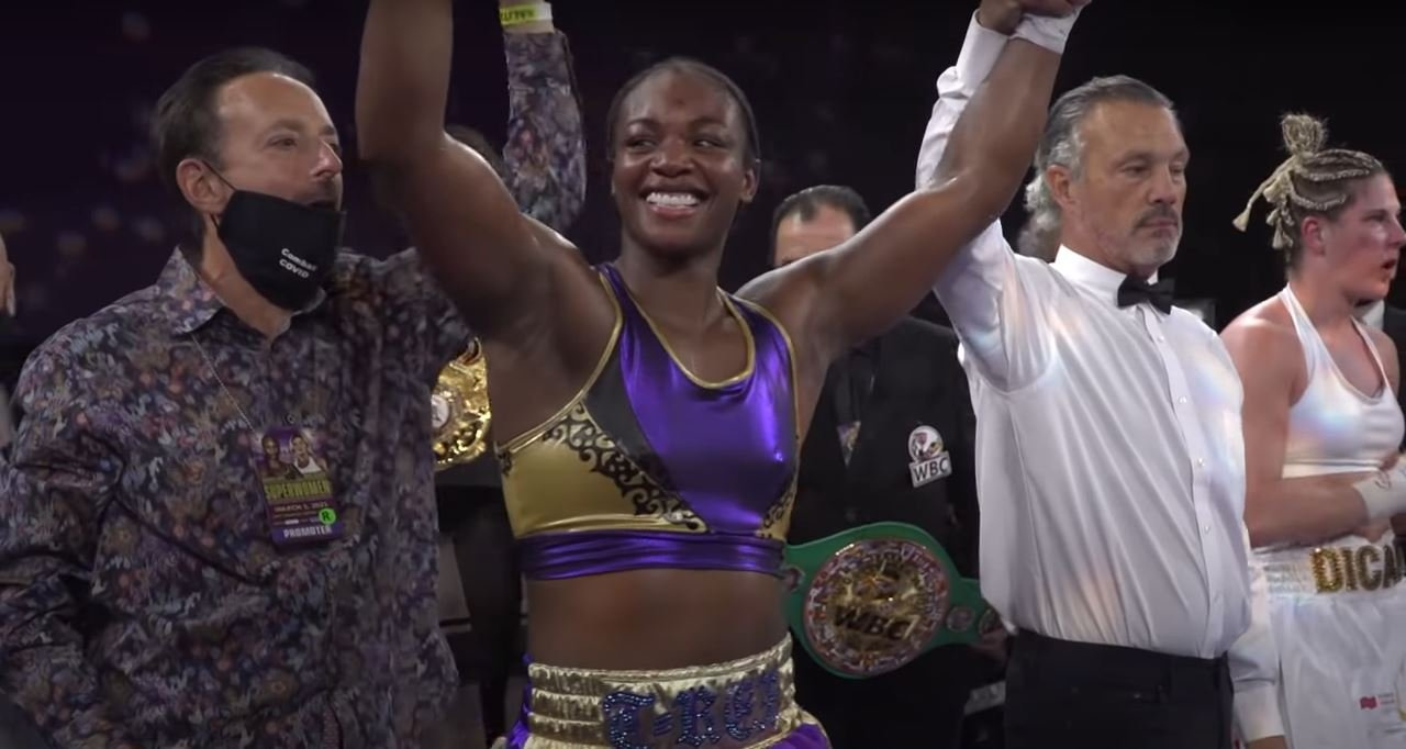 Claressa Shields Reacts To Devin Haney Beating Jorge Linares