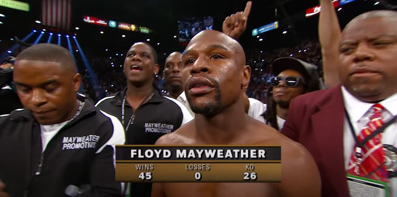 Floyd Mayweather Bitcoin News During Fear-Driven Time