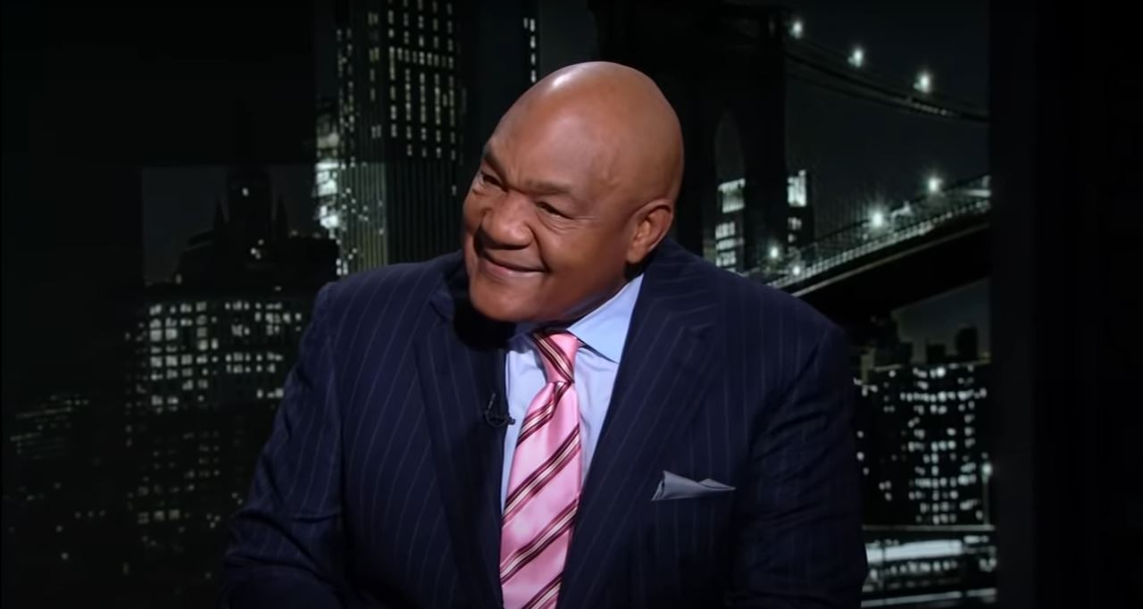 George Foreman On The One Thing That Gave Him His Punch Power