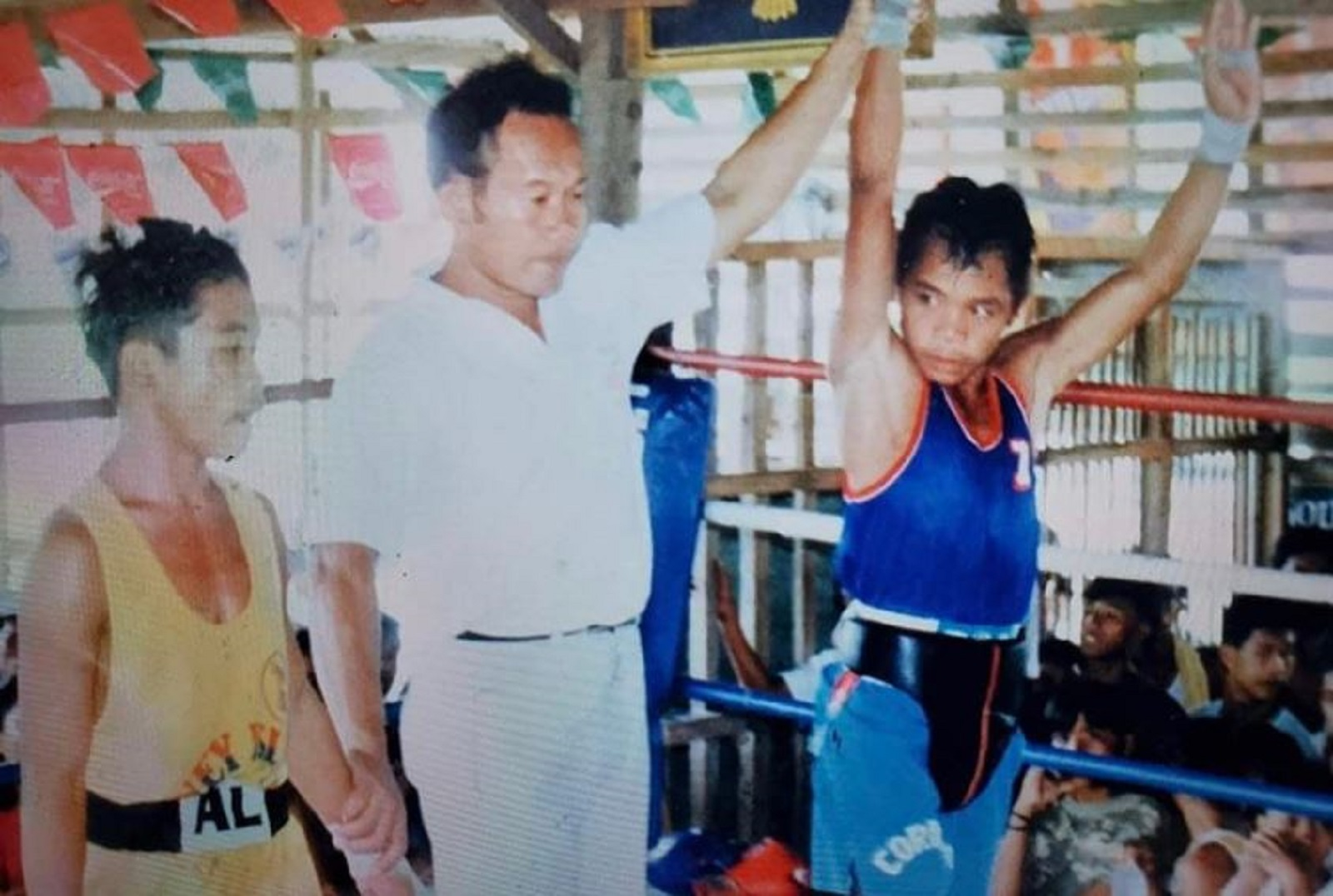 Manny Pacquiao Posts Powerful Tweet From Back In The Day