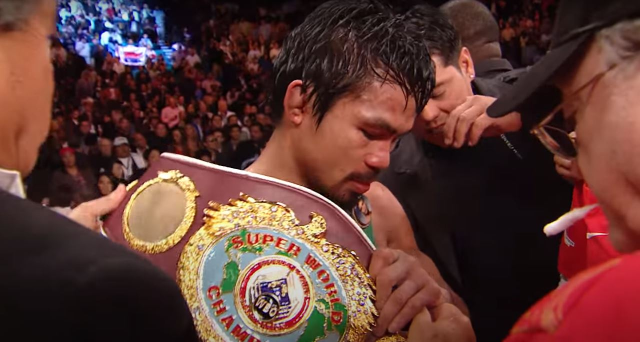 Manny Pacquiao Reacts To Another Veteran Southpaw's Unexpected Win