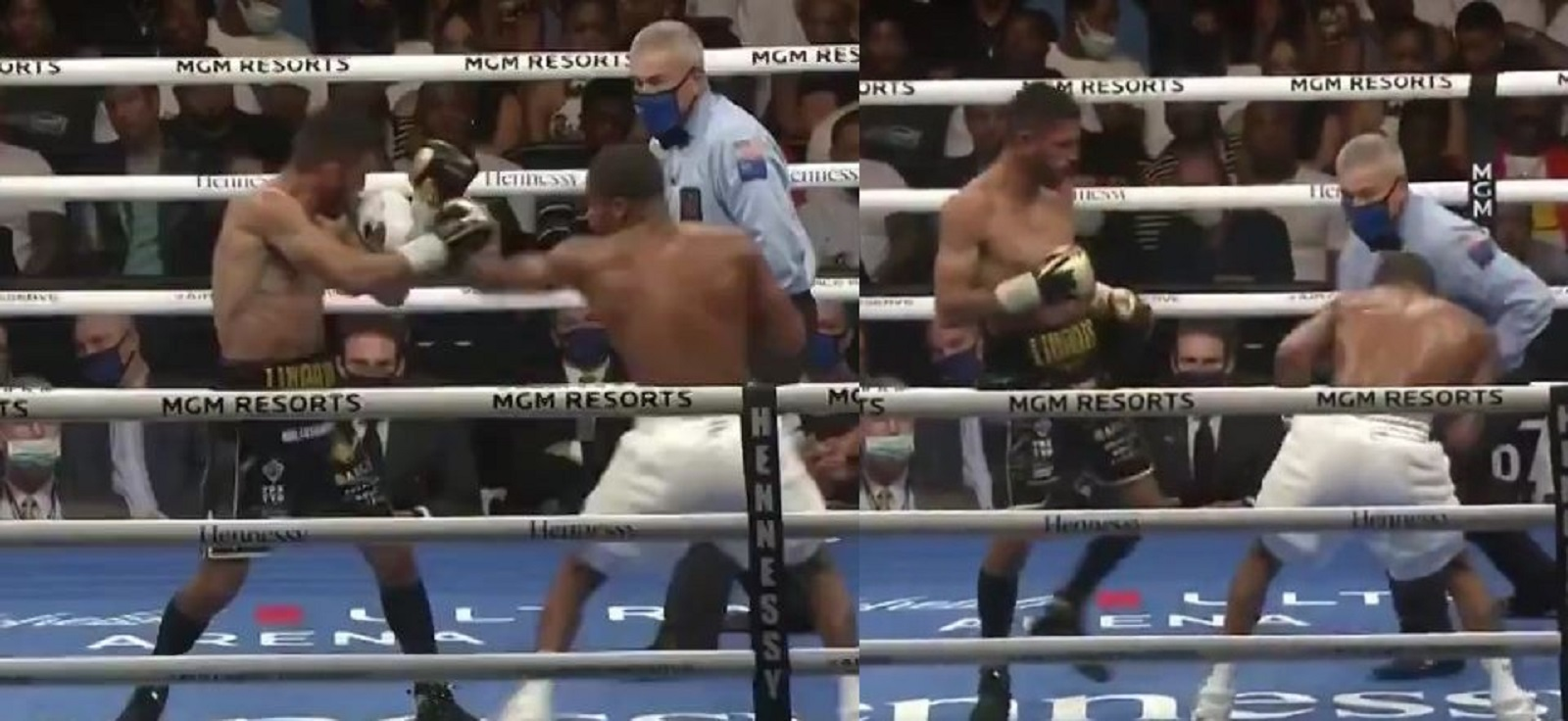 The Moment Jorge Linares Hurt Devin Haney For The First Time