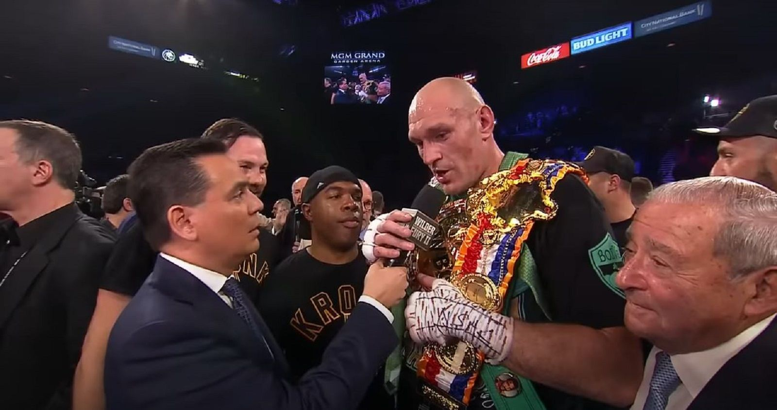 Tyson Fury Finally Announces Undisputed Heavyweight Title Fight