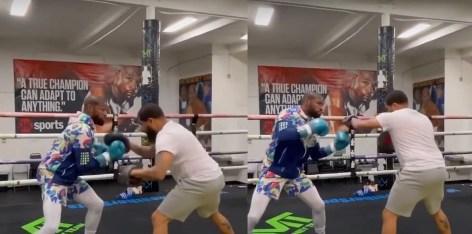 At 44-Years-Old This Shows Floyd Mayweather Is Still Very Sharp