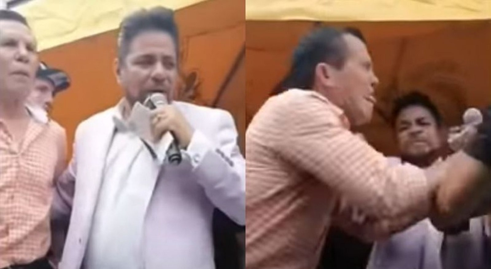 Chavez and Camacho Get Into An Altercation