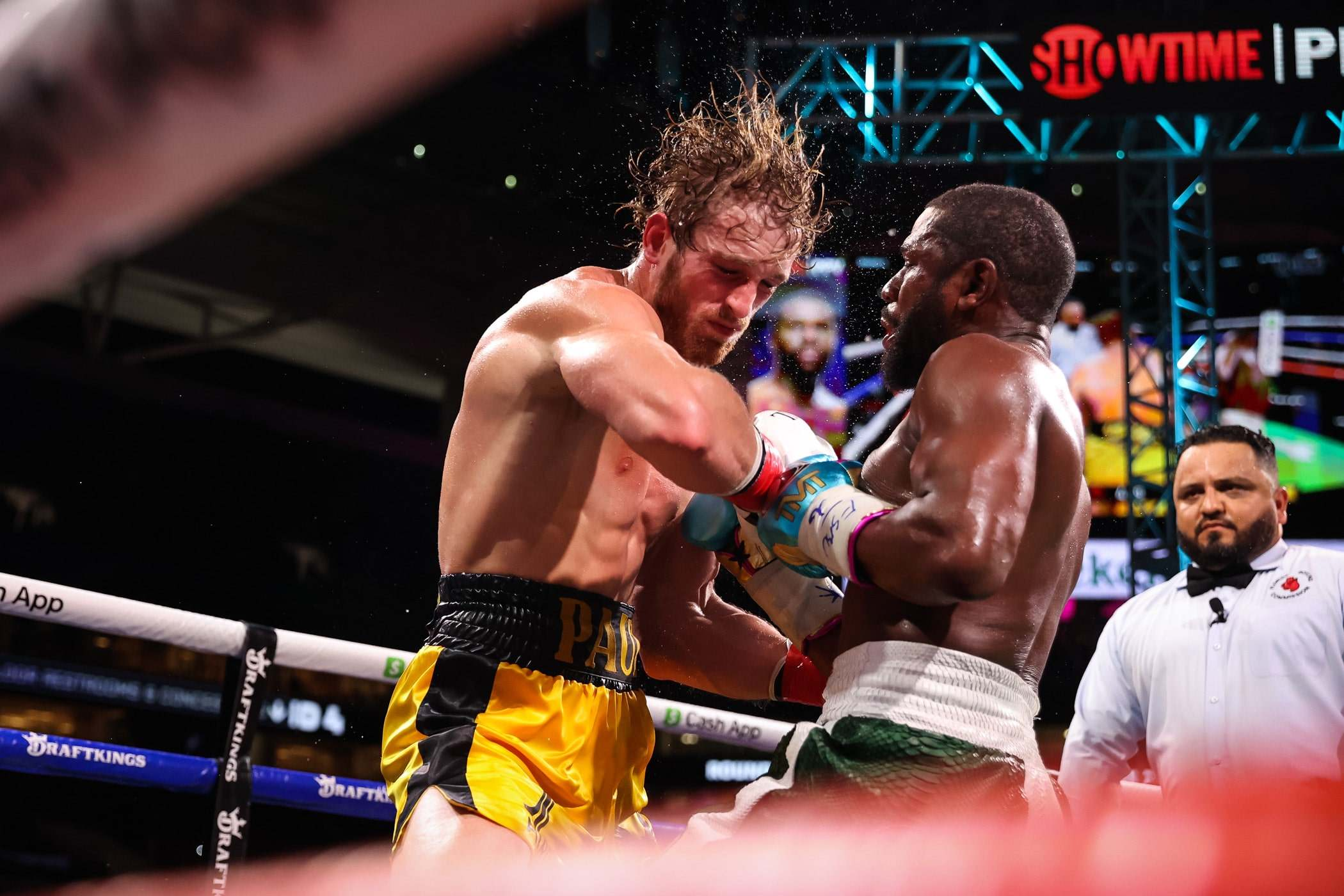 Mayweather Reveals Logan Paul Fight Was Shot Down By Commission Beforehand