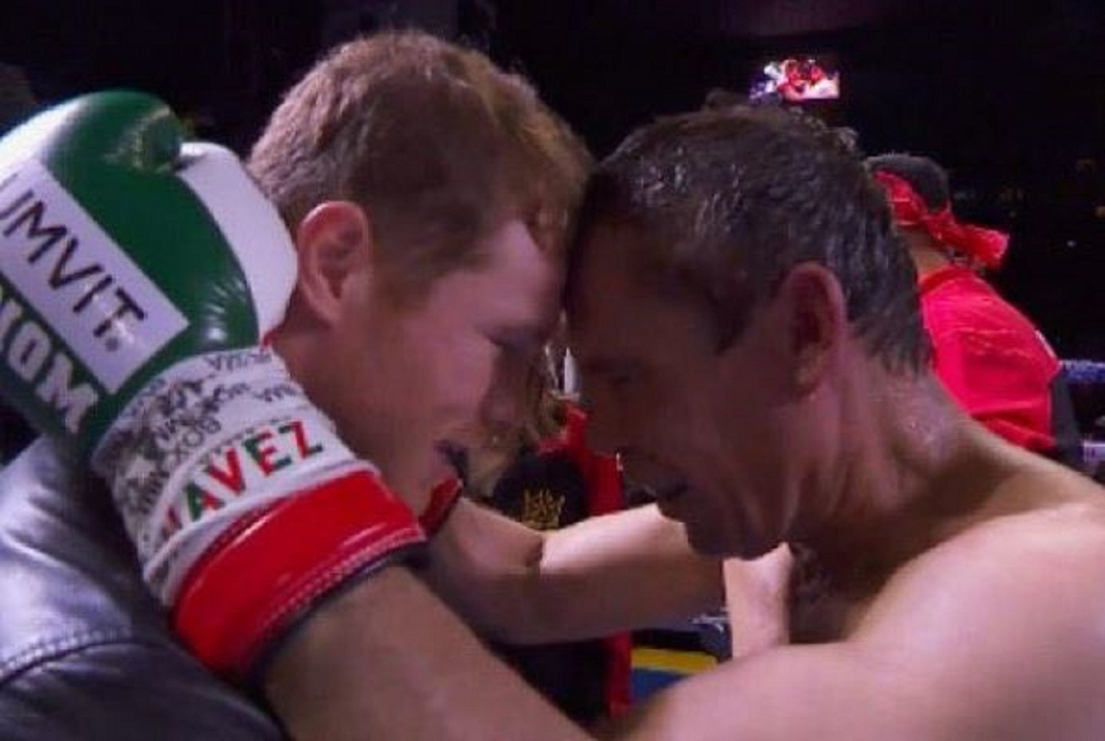 What Chavez Sr Told Canelo Alvarez In The Ring After Camacho Fight