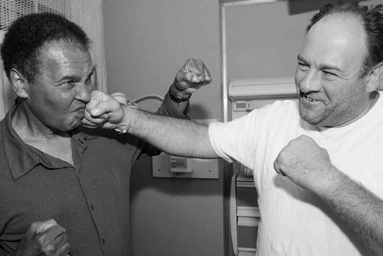 When Two Giants Met, One From Boxing The Other From TV