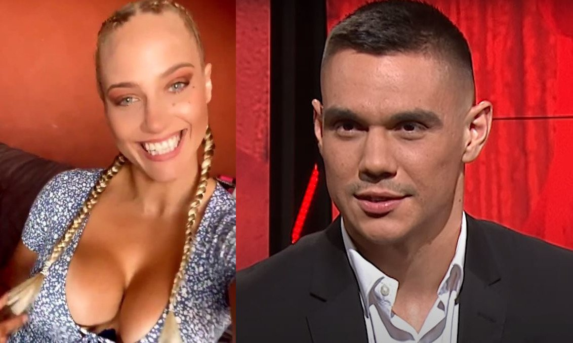 Blonde Bombshell Reacts To Son Of Boxing Legend Knockout