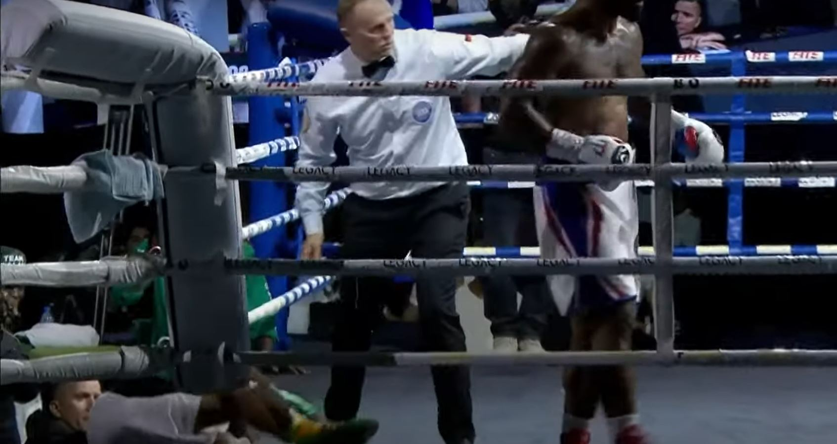Cuban Heavyweight Delivers Brutal Knockout