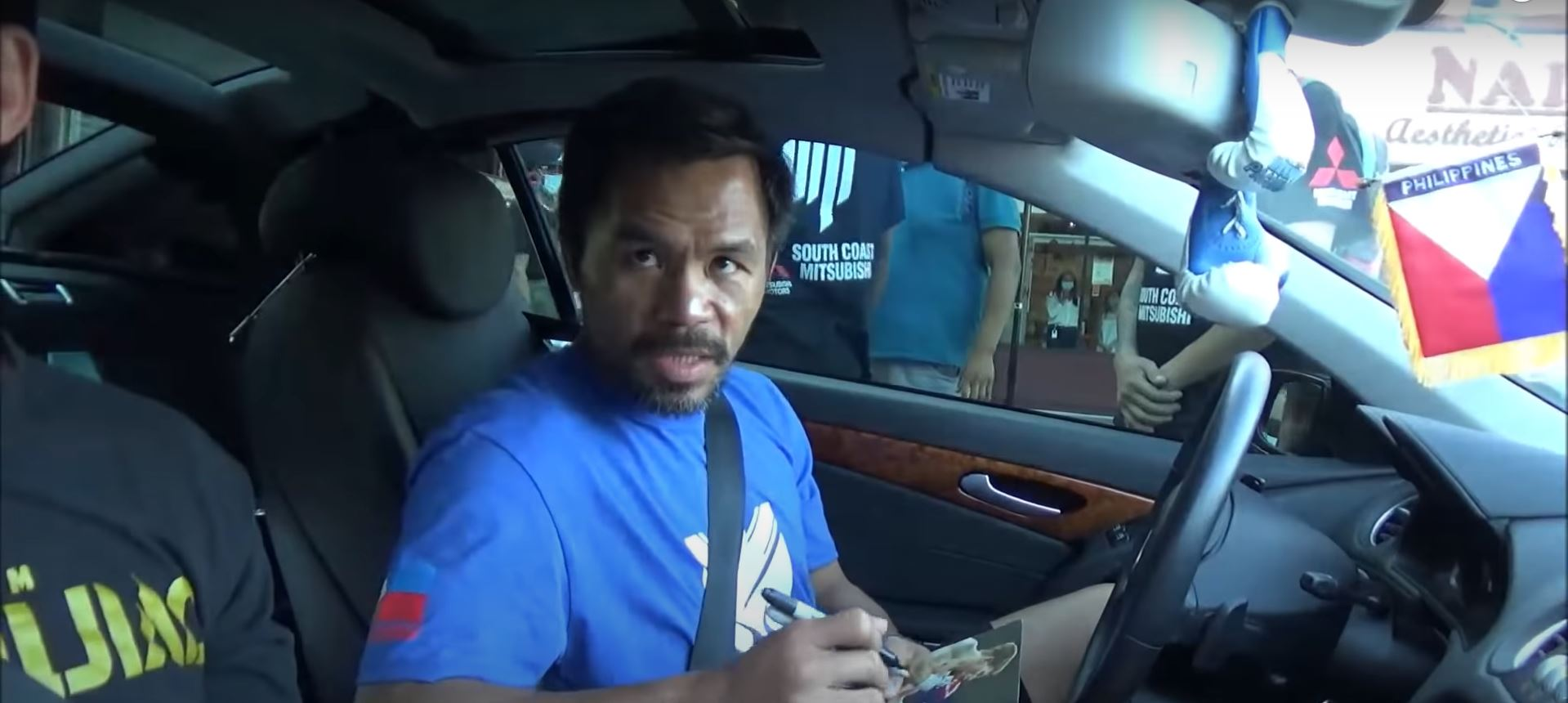 Pacquiao Speaks For First Time Since Last Minute Errol Spence Injury