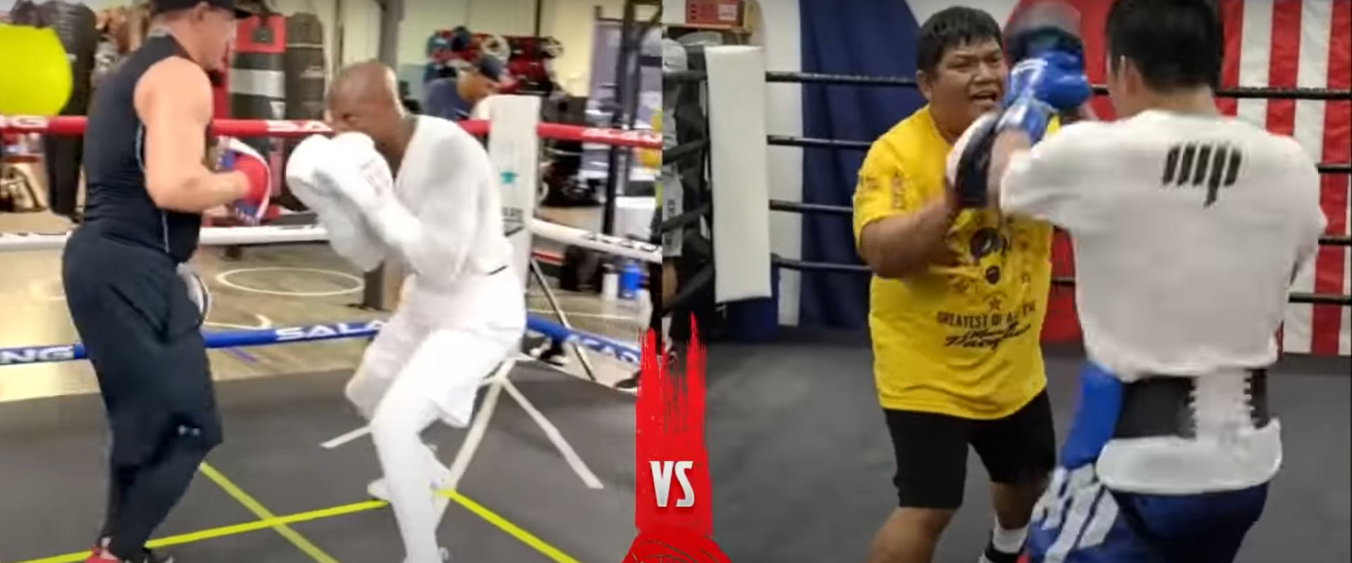 Pacquiao and Errol Spence Replacement Opponent Side By Side